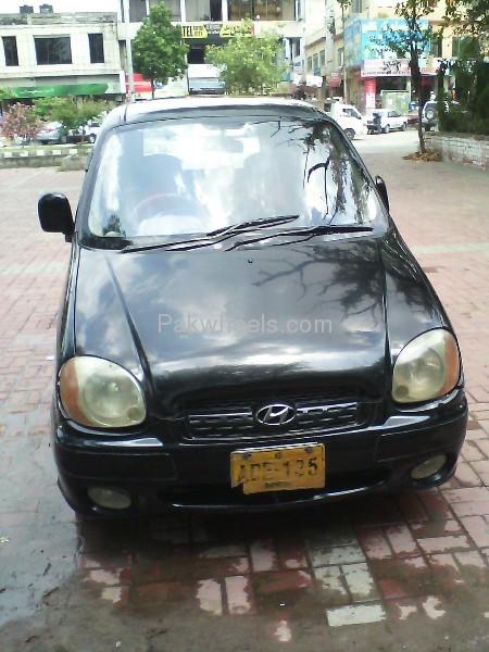 Hyundai Santro Club 2001 Image-1