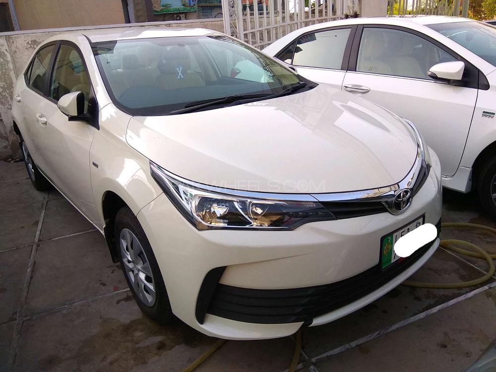 Toyota Corolla XLi Automatic 2018 Image-1