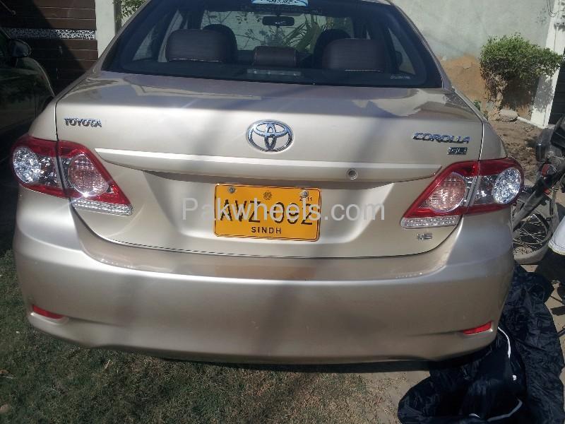 Toyota Corolla GLi Automatic 1.6 VVTi 2011 Image-9