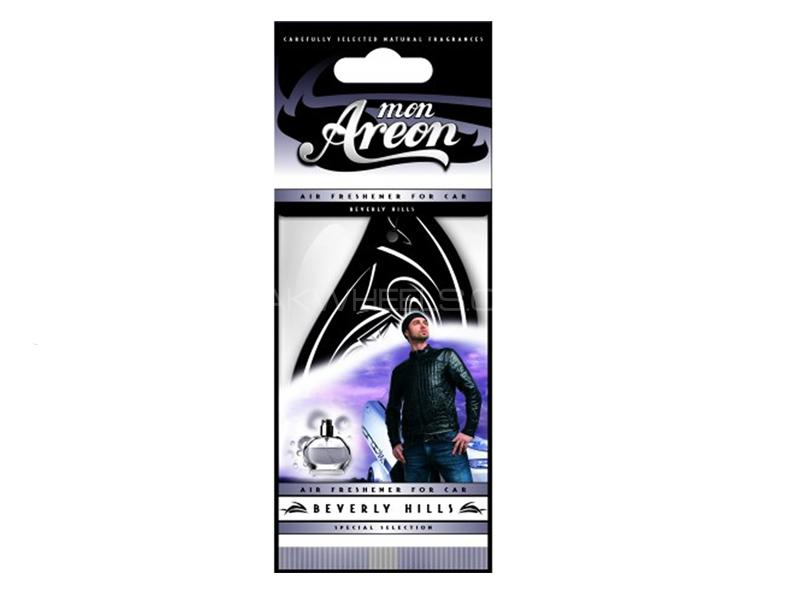Dry Air Freshener Perfume Card Mon Areon - Beverly Hills Image-1