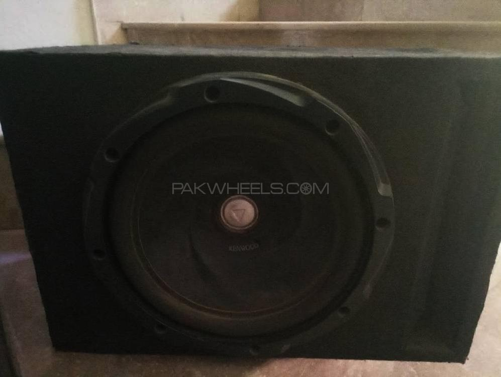 Kenwood woofer car sound system Image-1