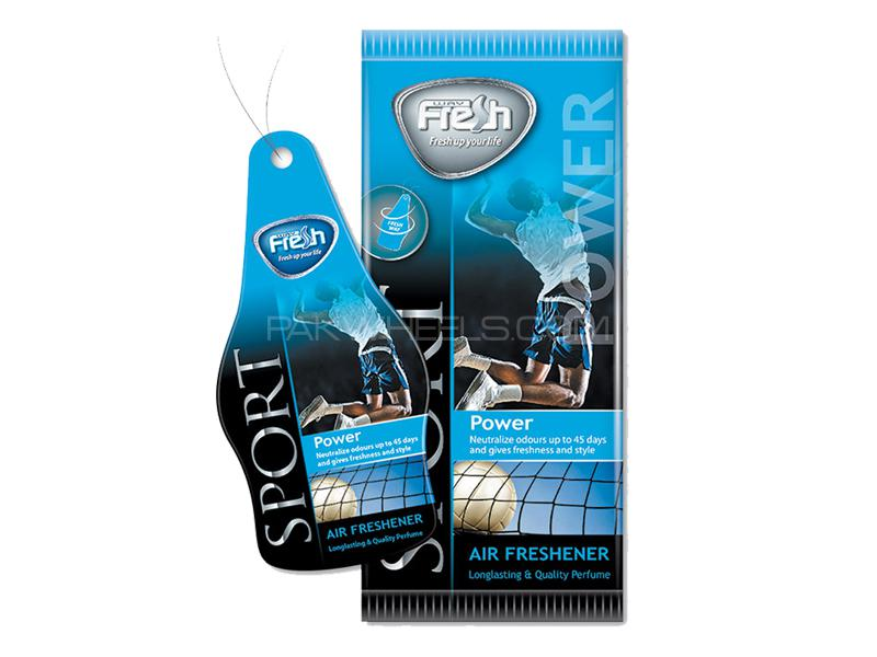 Dry Air Freshener Perfume Card Freshway - Power Sport  Image-1