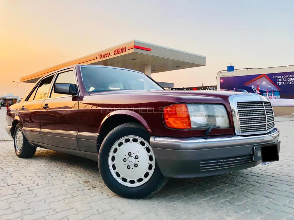 Mercedes Benz S Class 500SE 1991 Image-1