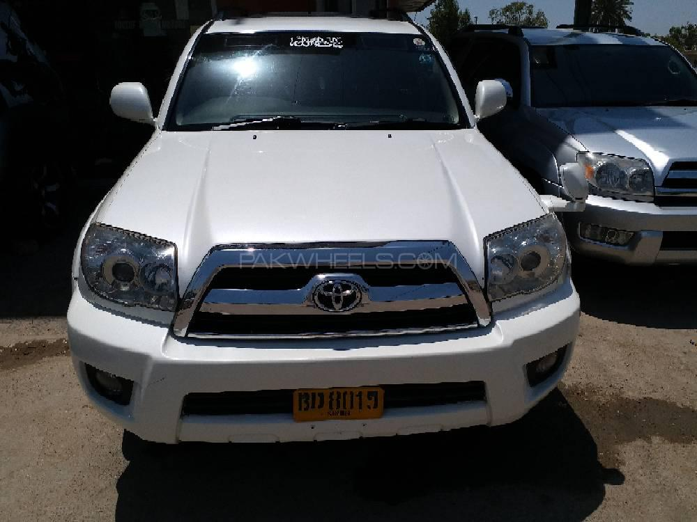 Toyota Surf SSR-X 2 7 2005 for sale in Karachi | PakWheels