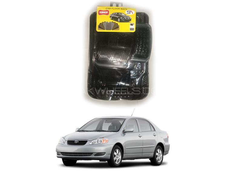 Kenco Pvc Floor Mats For Toyota Corolla 2002-2008 Image-1