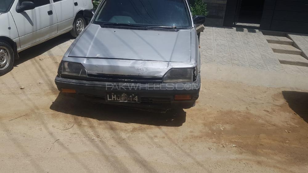 Honda Civic EX 1983 Image-1