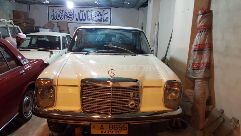 Mercedes Benz Se 220 1972 Image-1