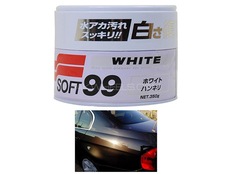 Soft 99 White Wax White Color  Image-1