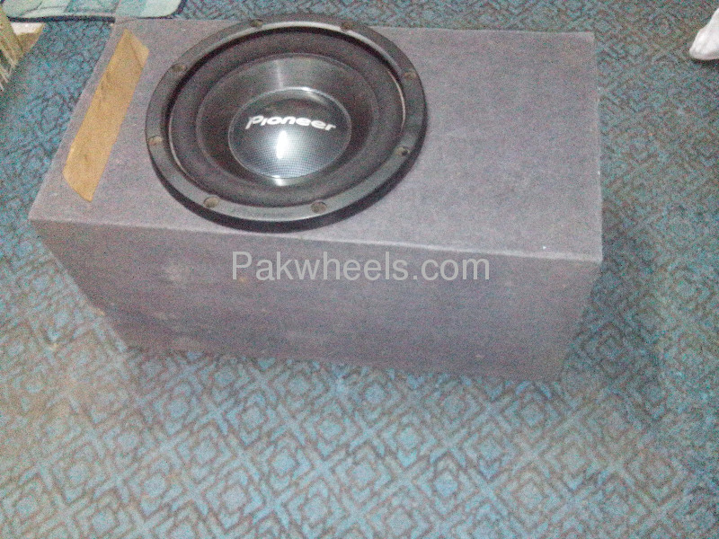 PAIR OF PIONEER TS-W305C FAVOURATE  WOOFER MADE IN MAXICO Image-5