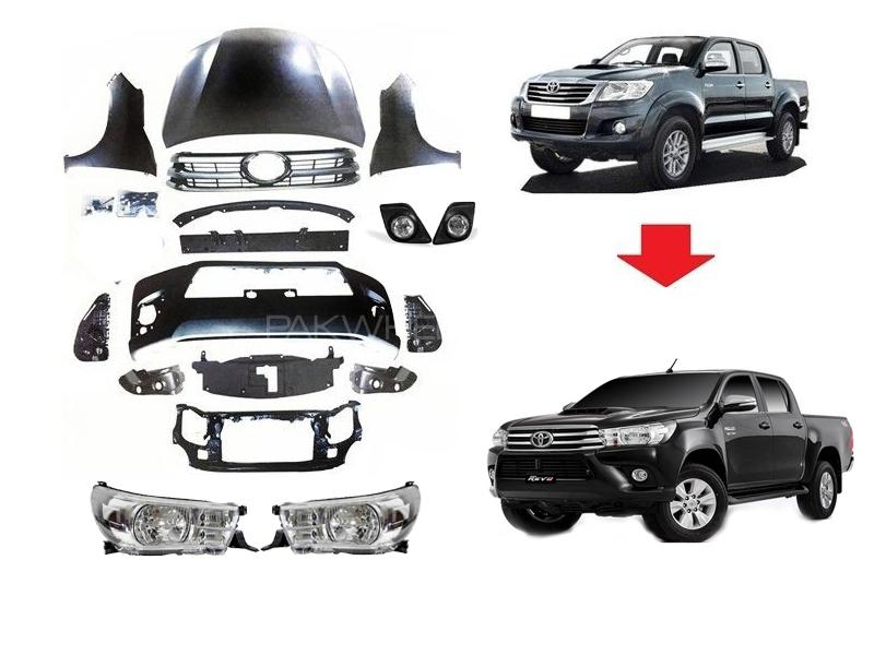 Toyota Vigo 2005-2017 To Revo Conversion Kit Image-1
