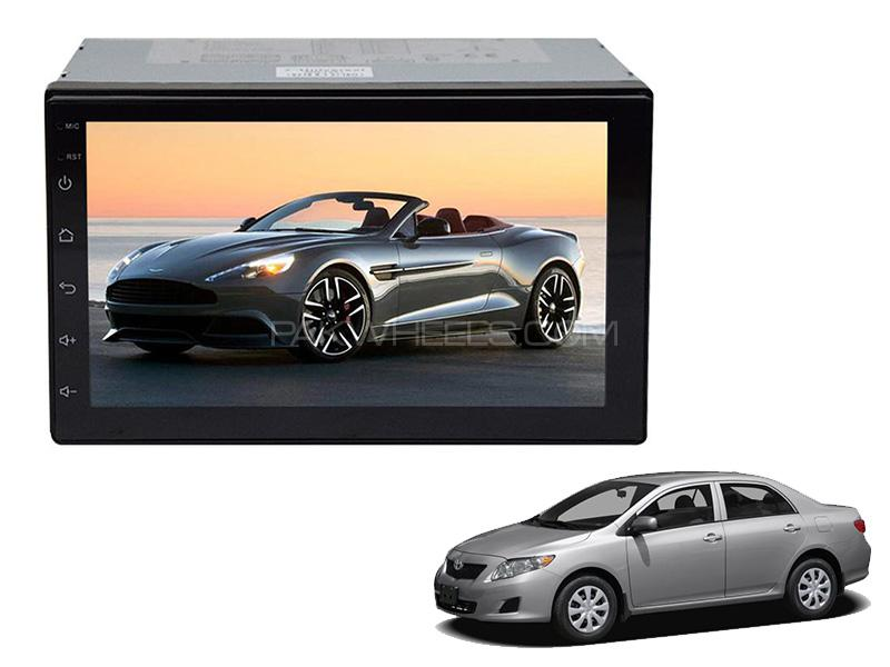 Wellfire DVD Player For Toyota Corolla 2009-2013 in Karachi