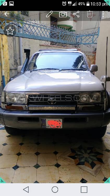 Toyota Land Cruiser VX Limited 4.2D 1997 Image-1