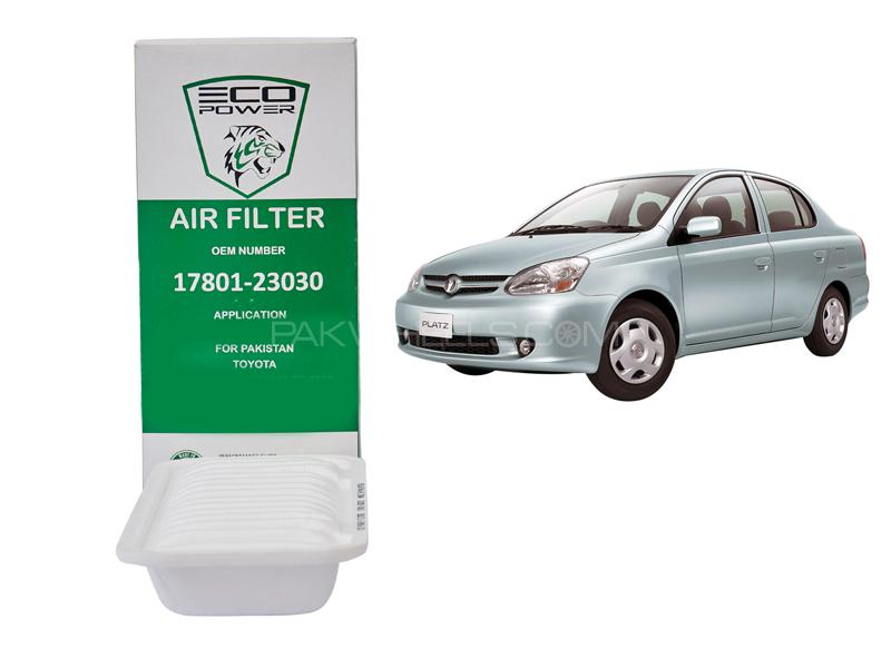Eco Power Air Filter For Toyota Vitz Platz 1999-2005 in Lahore