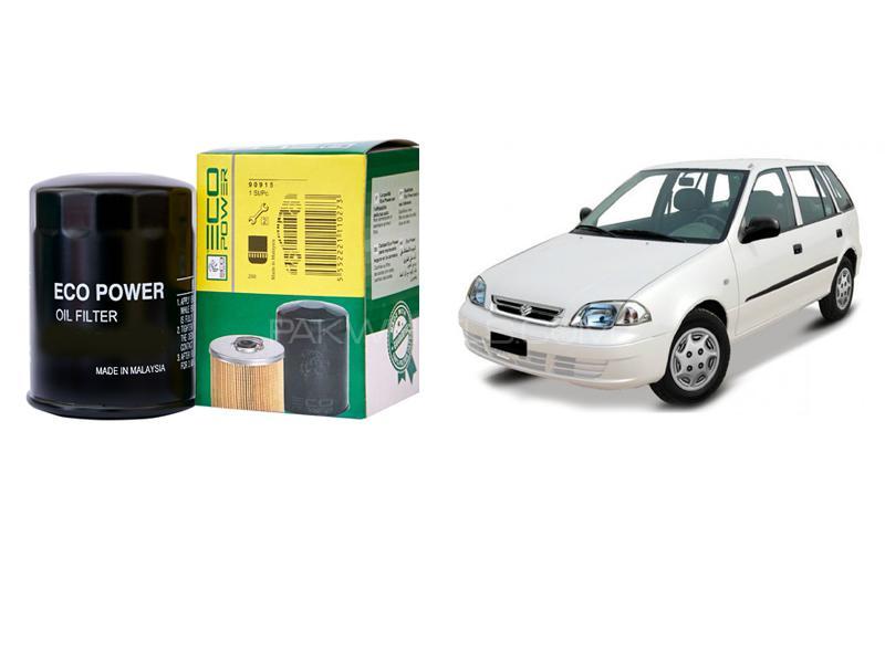 Eco Power Oil Filter For Suzuki Cultus 2000-2007 Image-1