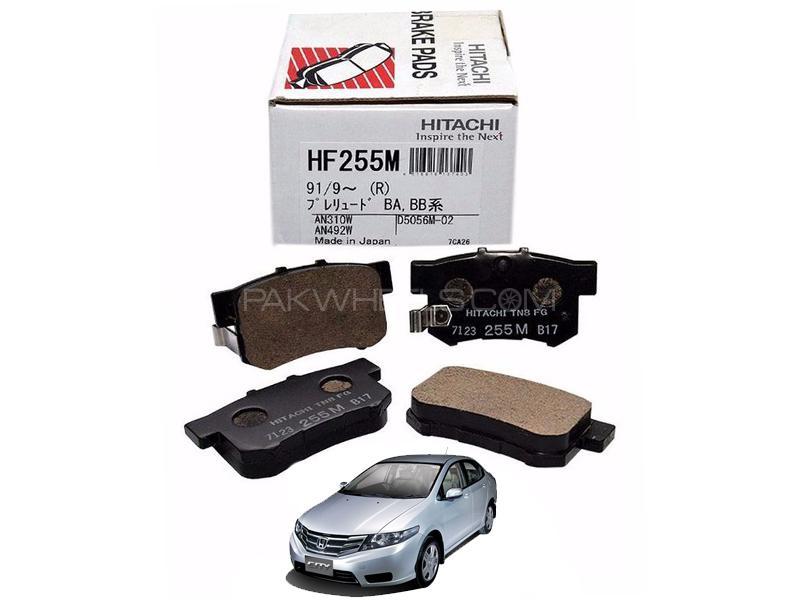 Hitachi Rear Brake Pad For Honda City 2012-2019 - HF255M Image-1