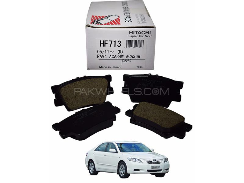Hitachi Rear Brake Pad For Toyota Camry 2006-2009 - HF713 Image-1