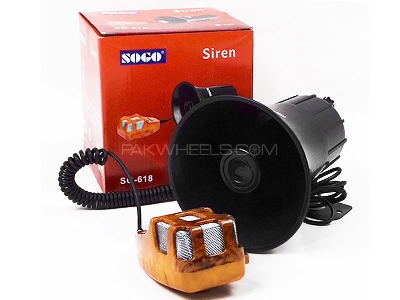 SOGO Car Siren SG-618 Image-1