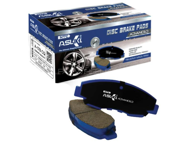 Asuki Advanced Rear Brake Pad For Toyota Camry 2001-2009 - A-346 AD Image-1