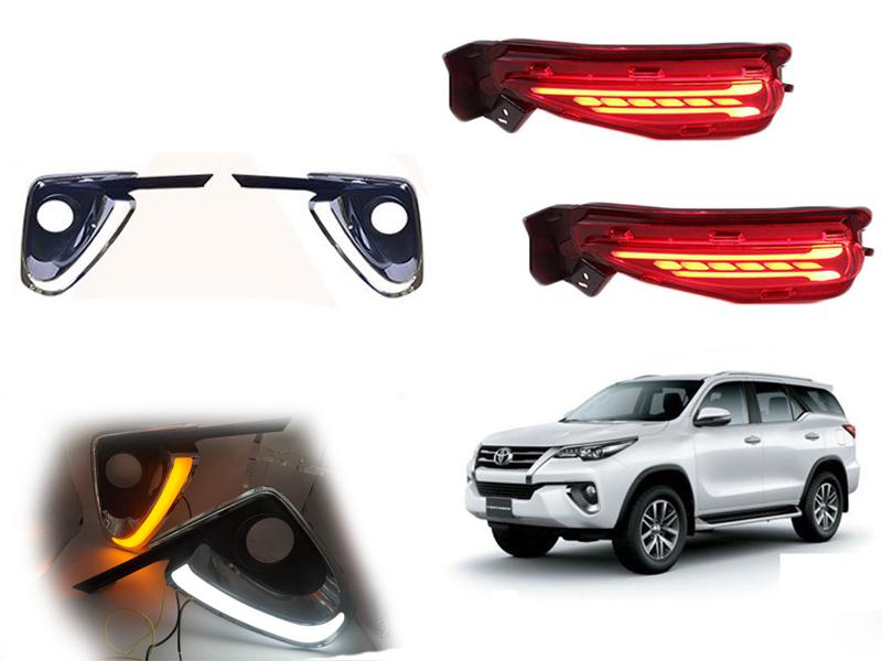 Drl Combo 2 For Toyota Fortuner 2017-2019 in Lahore