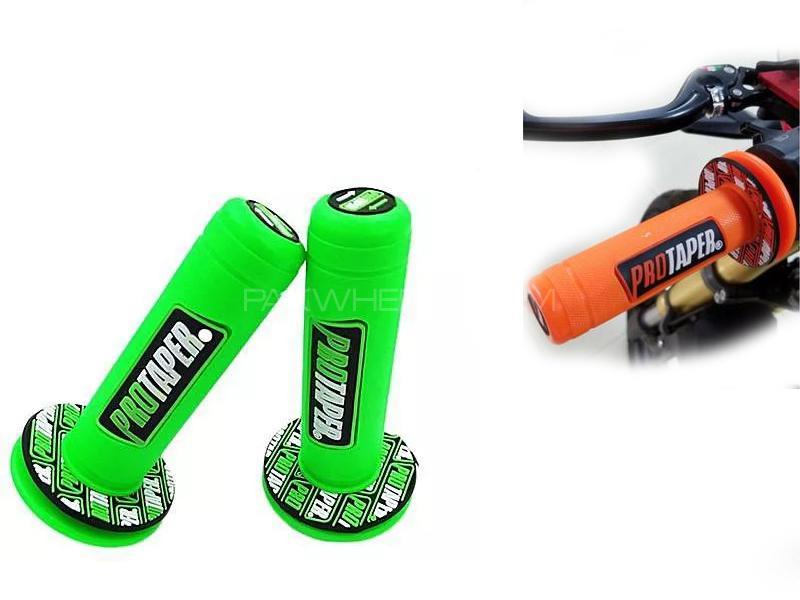 Protaper Bike Grip Green Image-1