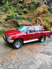 toyota hilux double cab 1990 for sale in muzaffarabad