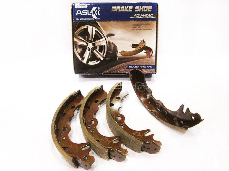 Asuki Advanced Rear Brake Shoe For Mitsubishi Lancer 1984 - A-6670 AD Image-1