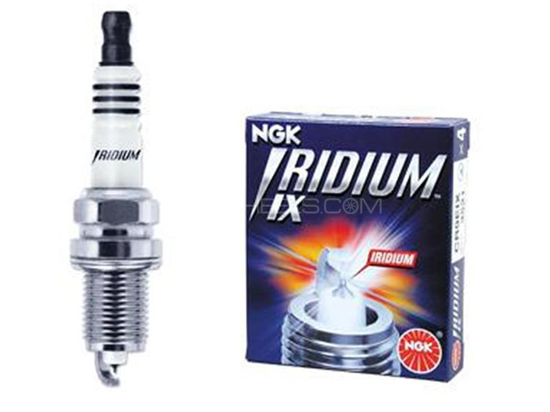 NGK Iridium Plug For Suzuki Alto Eco 2012 ILMAR7A8 - 4 Pcs Image-1