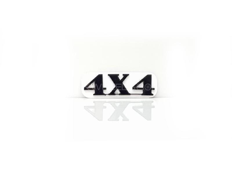 4x4 Plastic Pvc Emblem Image-1