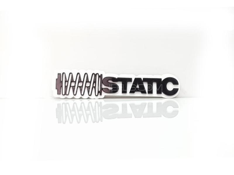 Static 2 Plastic Pvc Emblem Image-1