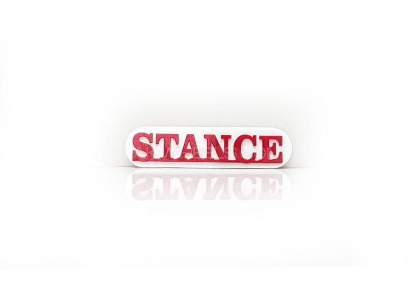 Stance 2 Plastic Pvc Emblem in Lahore