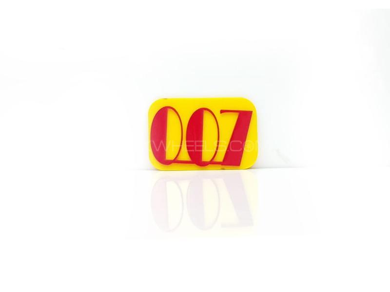007 Plastic Pvc Emblem Image-1