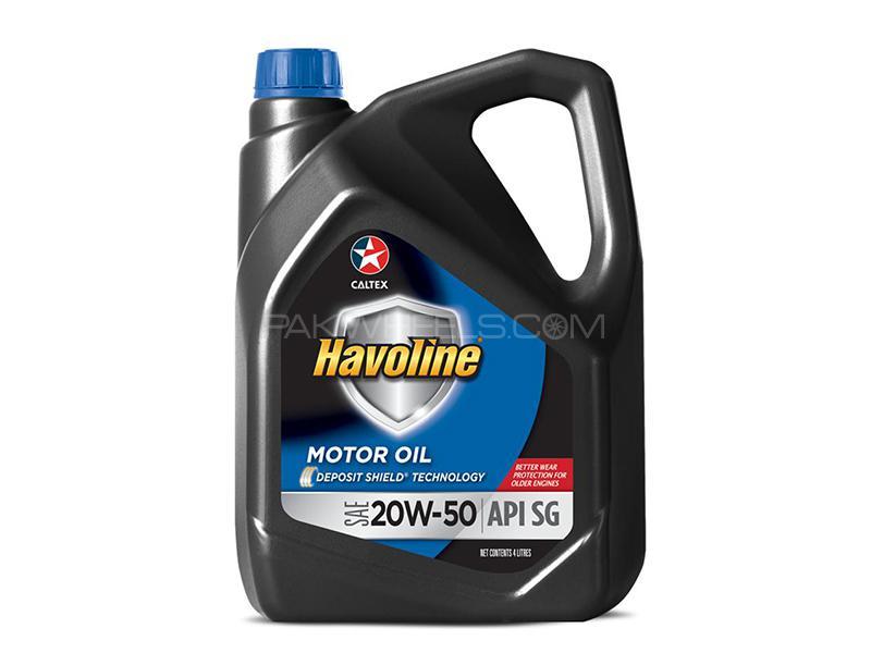 Havoline Motor Oil SAE 20W-50 3L Image-1
