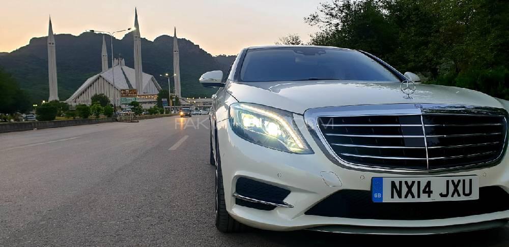 Mercedes Benz S Class S400 L Hybrid AMG 2014 Image-1