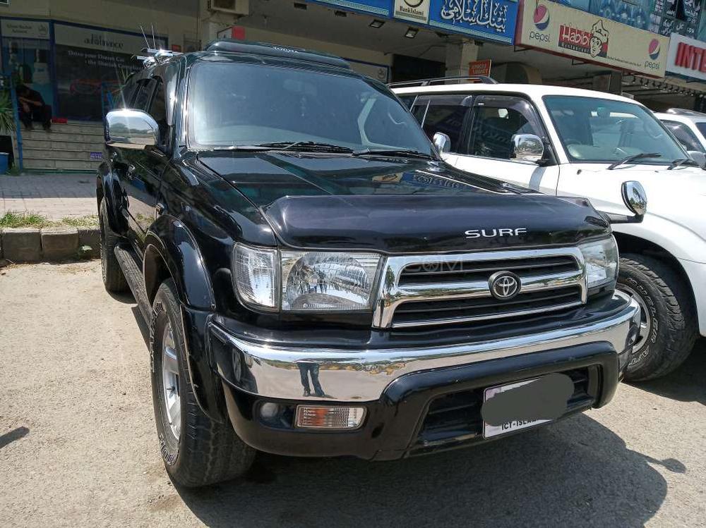 c29f1f5755d2 Toyota Surf SSR-G 2.7 2002 for sale in Islamabad | PakWheels
