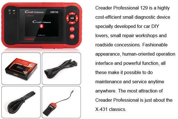 LAUNCH CRP129 PRO CRP 129 Car Scanner OBD2