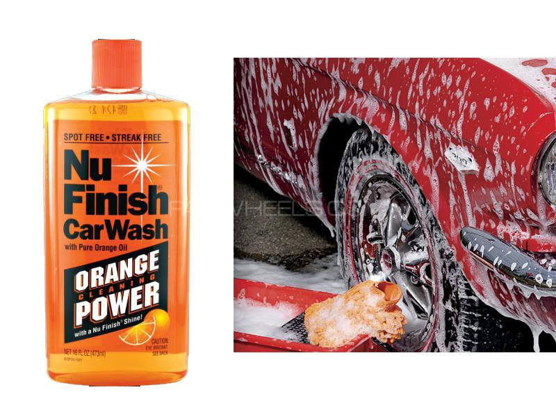 Nu Car Wash Shampoo 16oz Image-1