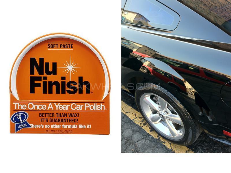 Nu Finish Car Paste Polish 14oz Image-1