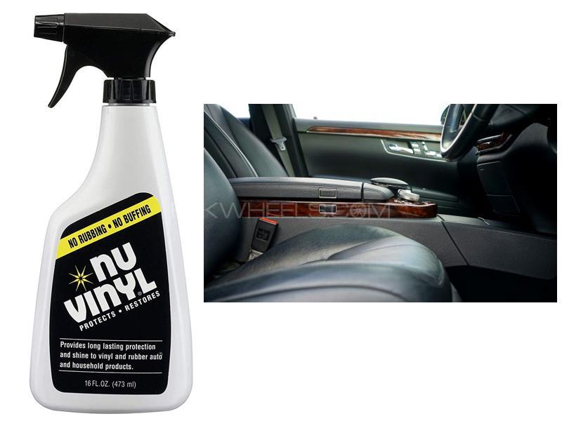 Nu Vinyl Spray Protectant 16oz Image-1