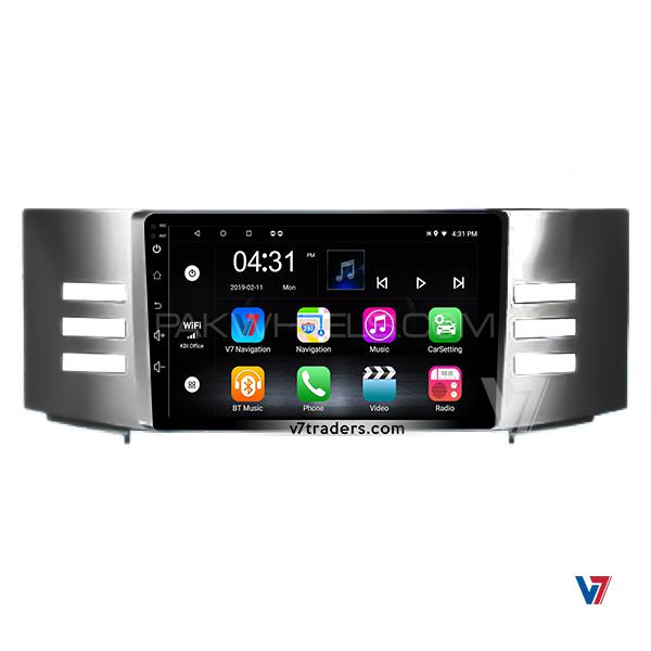 Toyota Mark X 2004-08 Android LCD Panel V7 DVD Player GPS Navigation
