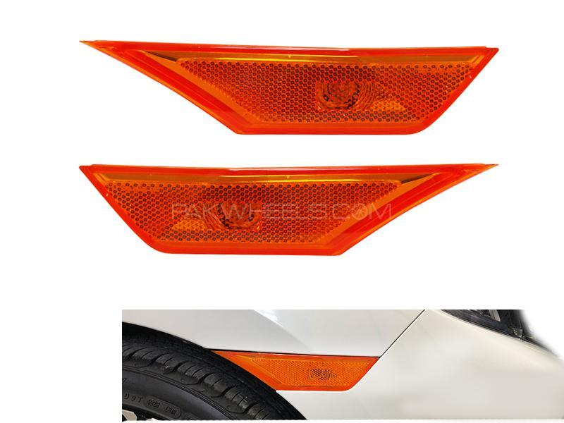 Amber Side Markers For Honda Civic 2016-2019 2pcs Image-1