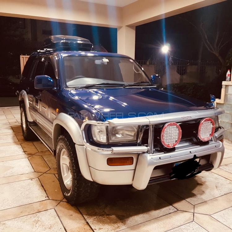 Toyota Suff: Toyota Surf SSR-G 3.4 1998 For Sale In Rawalpindi