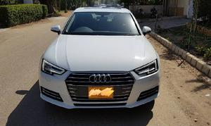 White Audi A4 Cars For Sale In Pakistan Verified Car Ads
