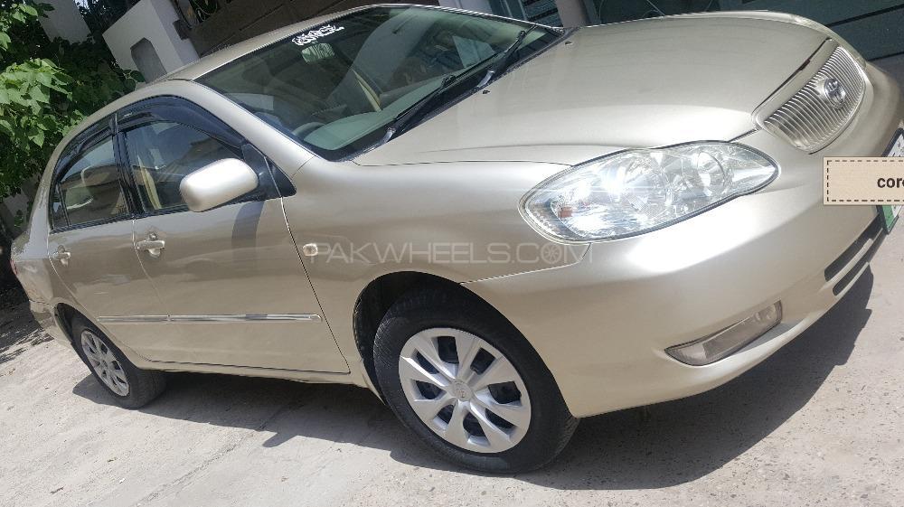 Toyota Corolla GLi 1.3 VVTi 2008 Image-1