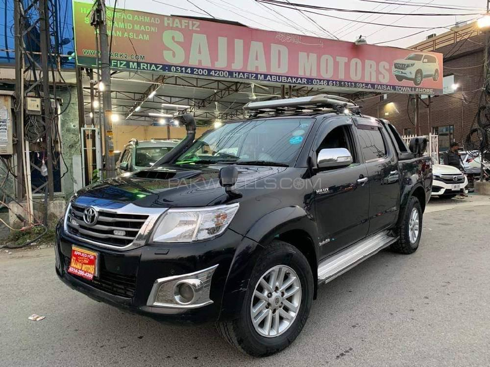 Toyota Hilux Invincible 2011 for sale in Lahore | PakWheels