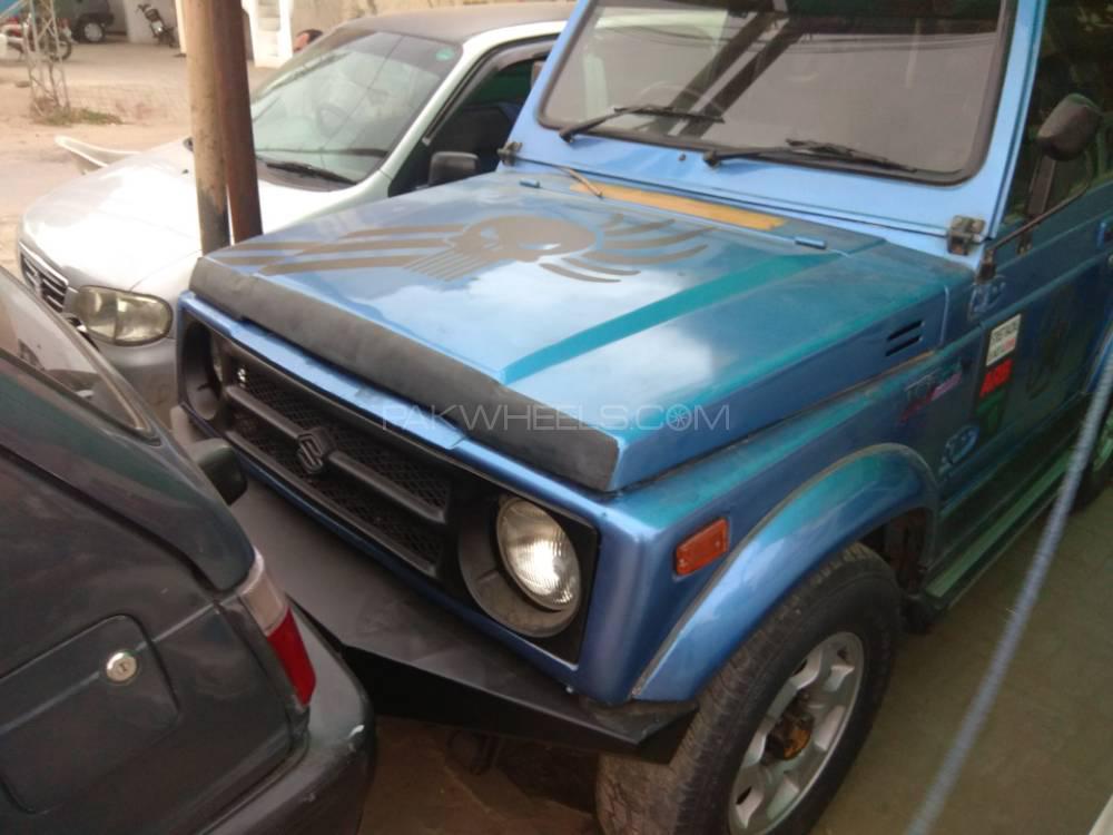 Suzuki Jimny JLDX 1988 Image-1