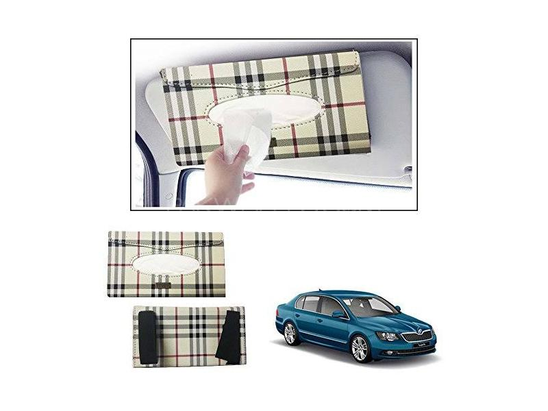 Universal Sun Shade Tissue Box Burberry Image-1