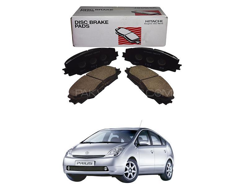 Hitachi Rear Brake Pad For Toyota Prius 1.5 2003-2009 - HF653M Image-1
