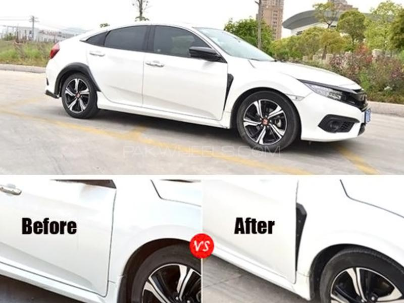 Honda Civic Type R Style Side Fender Vent - 2016-2019 2pcs Image-1