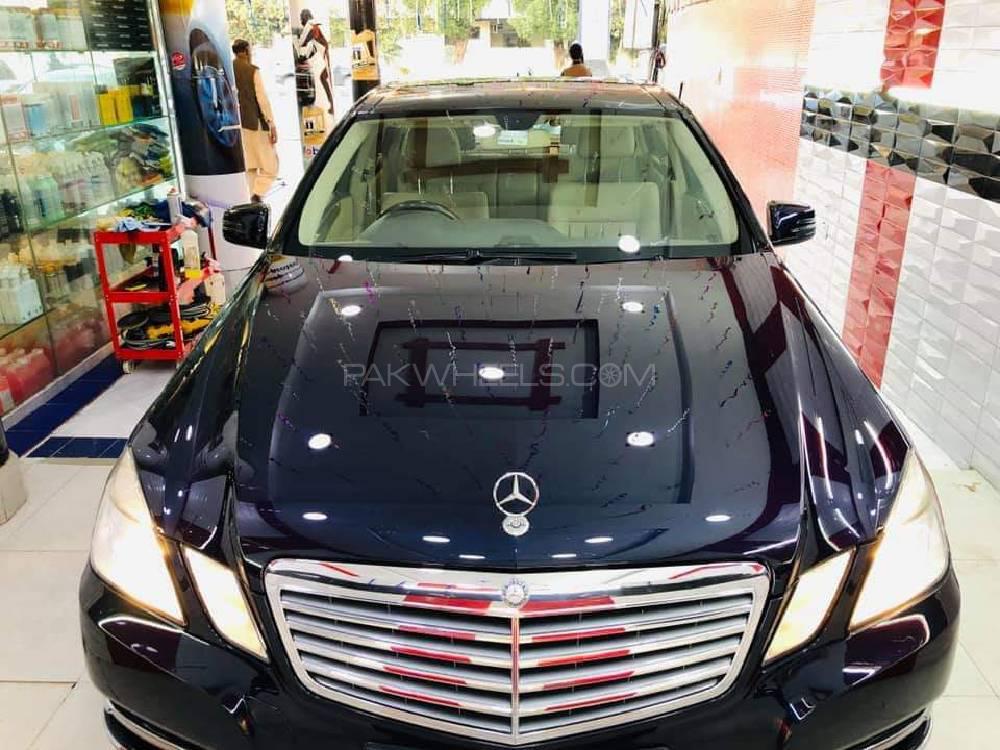 Mercedes Benz E Class E250 2011 Image-1