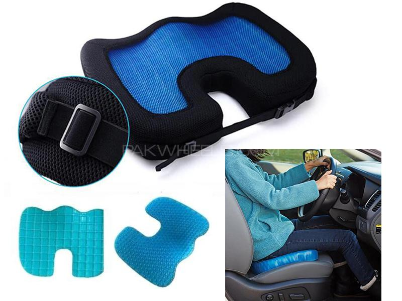U-Shape Pain Relieve Gel Foam Seat Cushion For Car/Home/Office  Image-1